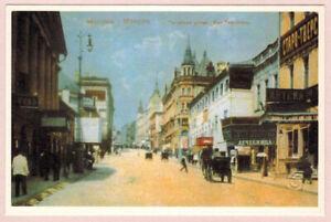 MOSCOW Tverskaya Street Russian postcard Repro of 1900's postcard