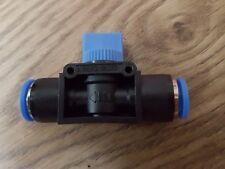 Manguera de nylon control Neumático Válvula De Bola Tubo en Línea Conector Empujar Ajuste Línea De Aire