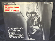 Rolling Stones December's Sealed Vinyl Record Lp USA 1967 Orig. London Hype Stic