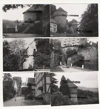 Trendelburg Hessen Oberen Weser alte Häuser 50 er Jahre