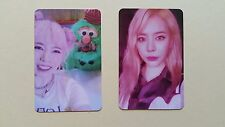 SNSD 6th Album HOLIDAY NIGHT Official Photocard - Sunny set