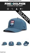 Pink Dolphin x PUMA SnapBack Hat Ventura In Blue Rare LTD Sold Out