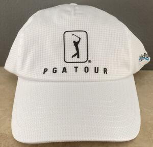 PGA Tour Course Essentials Airflux Vent Golf Hat New Official License
