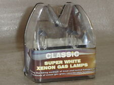 H7 Type 499 Xenon Super White Plus 30% Brighter Halogen Headlamp Headlight Bulbs