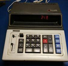 1970s vintage Sharp Compet 224V amber display digital calculator 1973 working