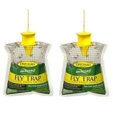 Outdoor Disposable Fly Trap / Catcher Station - Hanging Style (2 pack)