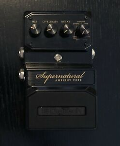 Digitech Hardwire Supernatural Ambient Verb Stereo Reverb Pedal