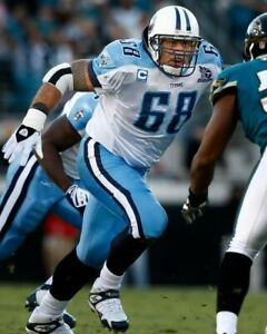 KEVIN MAWAE 8X10 PHOTO TENNESSEE TITANS PICTURE NFL FOOTBALL