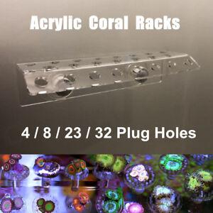 Marine Aquarium Reef Fish Tank Acrylic Coral Rack Bracket Live Holder Sucker B