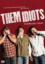 NEW-Them Idiots Whirled Tour DVD Jeff Foxworthy/Bill Engvall/Larry the Cable Guy