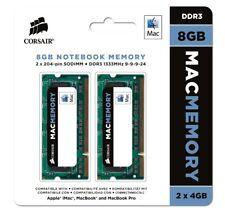Corsair Mac Memory - DDR3 - 2 x 4 GB