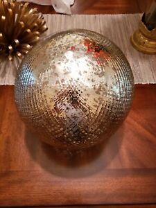 Ballard Designs Mercury Glass Led Globe