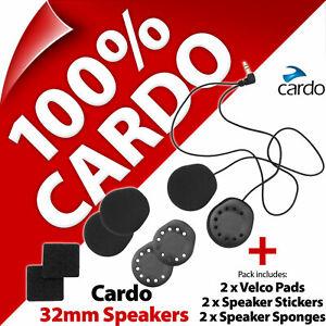 Cardo Scala Rider 32mm Speakers Set PackTalk SmartPack Freecom G9x G9 Q3 Q1 Qz