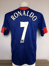 Manchester United Away Football Shirt 2005 2006 RONALDO 7 Medium M Adults Nike