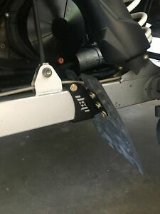 Polaris Turbo S Rear Trailing Arm Guard / Mud Flap