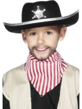 Sheriff Hat Children Boys Smiffys Fancy Dress Costume Accessory