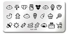 NEW NJX 008 DIY Manicure Nail Art Stamp Template Cute Baby Design Image Plate
