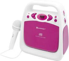 Soundmaster KCD50PI CD und USB-Spieler mit Sing-a-long Funktion und UKW Radio