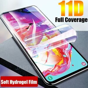 For Google Pixel 4 3 3a 2 XL 3D Curved Soft TPU Full Cover Front Screen