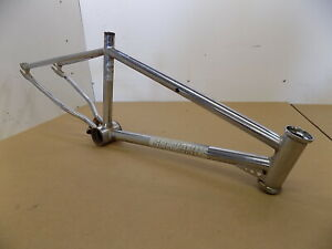 "1984 Schwinn Predator 20"" Old School BMX / Original CHROME FRAME"