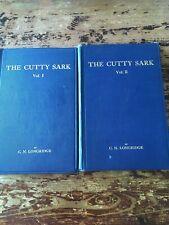 The Cutty Sark Vol 1&2  By CN Longridge Free Shipping