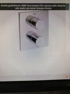 Grohe Grohtherm 3000 C Wannenthermostat 19567000