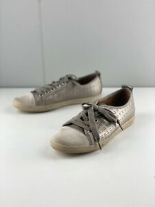 Supersoft by Diana Ferrari Women's Lace Up Casual Sneaker Shoes Size 38 Brown