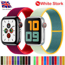 Replacement Nylon Watch Strap For Apple Watch Series SE 6/5/4 42/44mm Watch Band