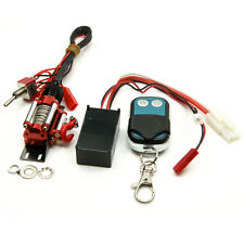 RC Steel Wired Automatic Crawler Winch Control System+Wireless Remote Receiver