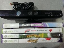 Xbox 360 Kinect + 4 Games - Preowned - Fast Despatch