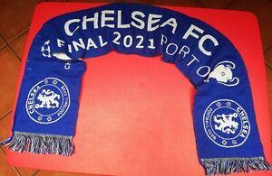 Official Chelsea FC Champions League Final Scarf 2021