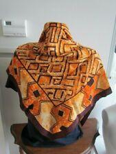 Disney The Lion King Silk Crepe Print Vintage Scarf African Folk Art Design