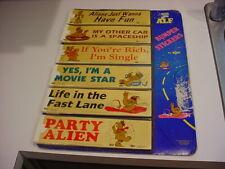 Store Counter Display Russ Alf 1987 Alien Production 87 Original Bumper Stickers