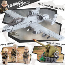 Building Blocks XINGBAO 06022 The A10 Fight Aircraft Building Blocks Modell Toy
