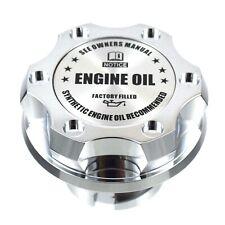 Chrome Oil Cap Filler Racing Billet Silver Engine Oil Fits LS1 LS2 LS3 LS6