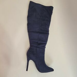 Charles by Charles David DILLY Dress Boot NAVY STRETCH MICROSUEDE CHOOSE A SIZE