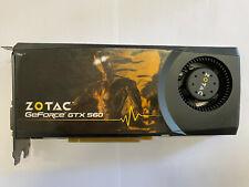 Zotac GTX560 (1 GB 256Bit) DDR5 (PN 288-1N227-000ZT)  #GK75