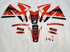 KIT ADESIVI GRAFICHE GRAPHICS STICKERS BLACKBIRD KTM EXCF SXF 400 520 2000