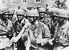 WW2 - Belgique - Paras allemands après la prise du Fort d'Eben-Emael en mai 1940