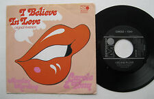 "7"" Carole & Tony – I Believe in Love/Monday Morning-MINT-Metronome 25 429"