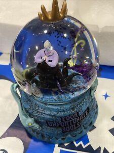 Disney Parks Little Mermaid Ursula Poor Unfortunate Souls New Cute Snow Globe 💥