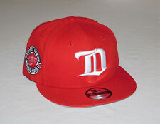 Detroit Red Wings New Era NHL Vintage Collection 1926 Snapback Flat Brim Hat NEW