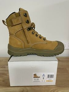 Mongrel 561050 Work Boots. Safety Steel Toe Cap, Vibram Outsole , Zip Sider.