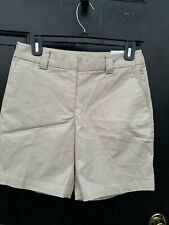 NWT ashworth Shorts Size 2 Flat Front Excellent Condition