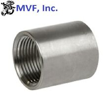 "2-1/2"" 150 Female (NPT) Full Coupling 304 Stainless Steel Coupler <SS051041304"