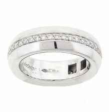 Antonini Amsterdam Diamond Ring 18K White Gold NEW Size 6.25 .53CTTW