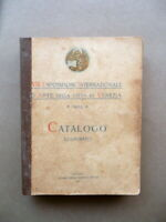 VIII Esposizione Internazionale d'Arte Città di Venezia Catalogo 1909 Arte