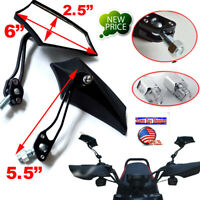 1 Pair Universal 8mm 10mm RearView Side Mirrors For Scooter Motorbike Motorcycle