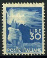 Italia Repubblica 1945 Sass. 563 zz Nuovo ** 100% Democratica