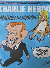 Charlie Hebdo Kein 1239 von April 2016 Macron in Walking. Chronik von Renaud